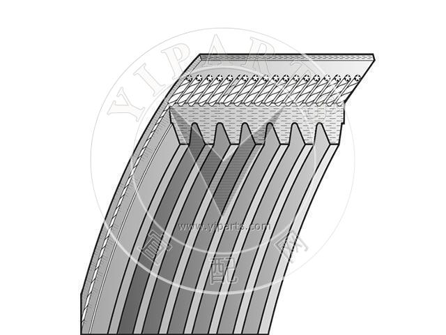 V-Ribbed Belt For LAND ROVER Discovery II ERR6897