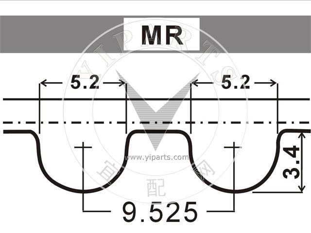Aramid 1 Band D/&D PowerDrive 248-114 STENS Kevlar Replacement Belt