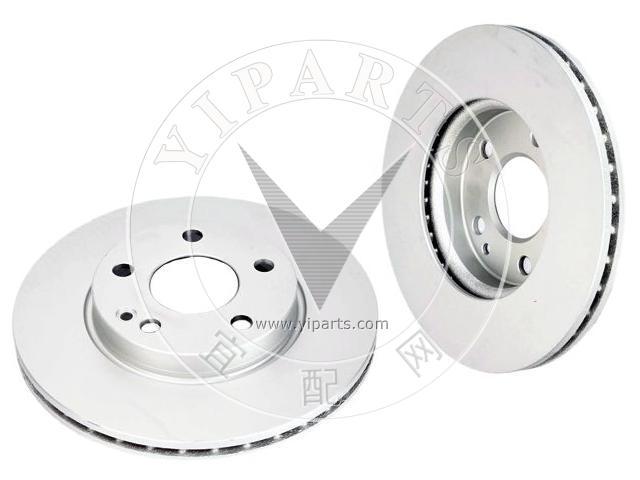 Mercedes A180 W169 CDi 2005 Front Brake Discs Mintex Pads