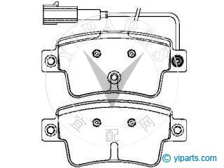 Alfa romeo brake pad set 77365464 fr also 213908548000 together with 14016 60526068 First Gear Pignon Alfa Romeo 75 Sz Rz 60526068 likewise Heater Plug additionally Floor. on fiat punto 2008 model
