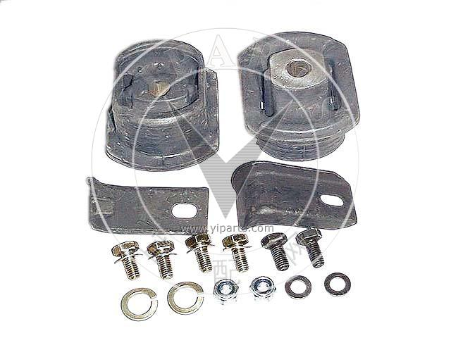 For Mercedes Benz W123 240D Suspension Subframe Mounting Kit Meyle 1233500175