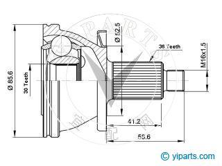 kit d'installation de joint de transmission